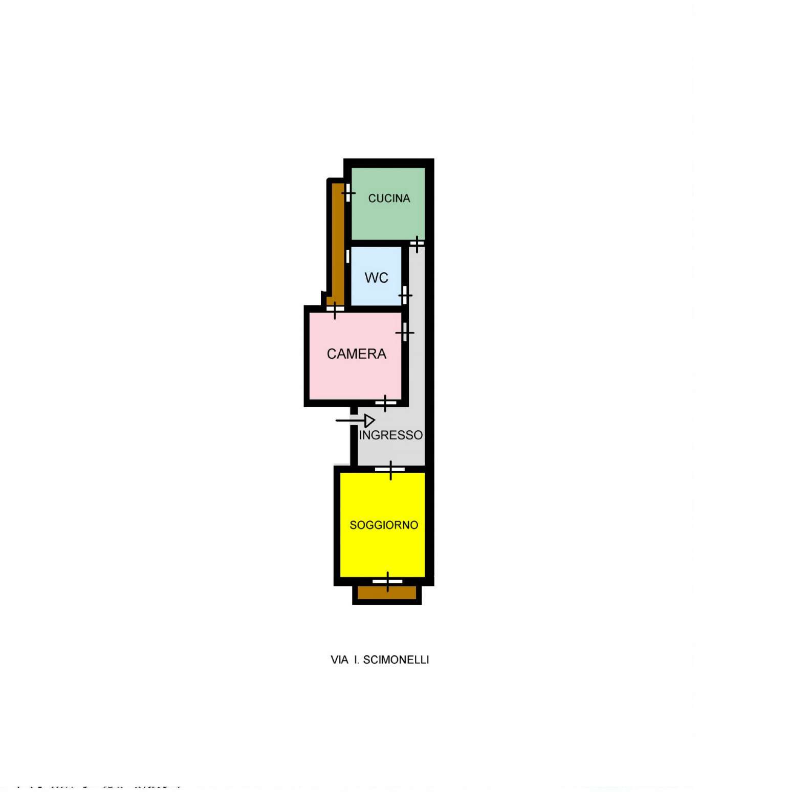 Appartamento in Vendita a Palermo: 2 locali, 70 mq