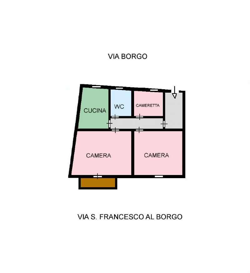 Appartamento in Vendita a Ustica: 3 locali, 60 mq