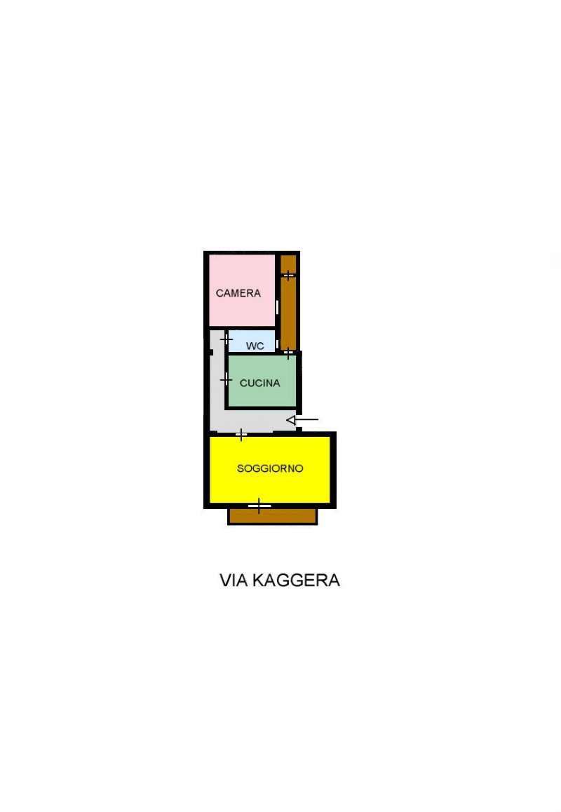 Appartamento in Vendita a Palermo: 2 locali, 85 mq
