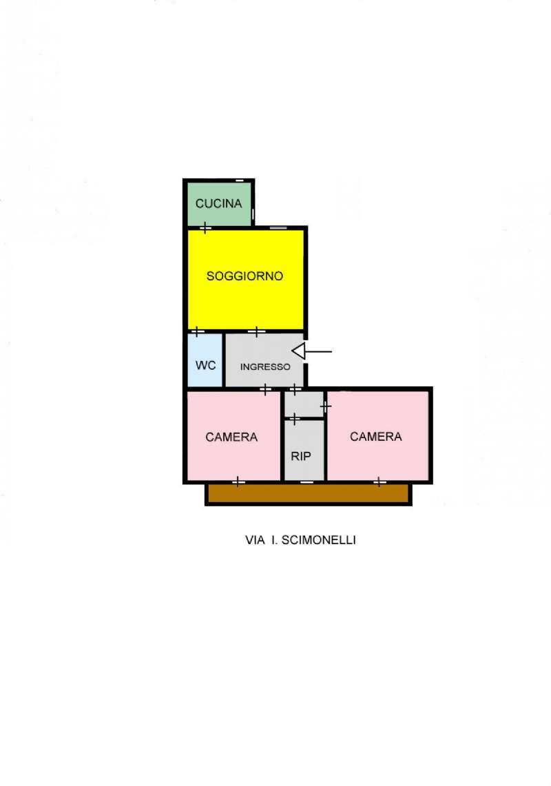 Appartamento in Vendita a Palermo: 3 locali, 68 mq