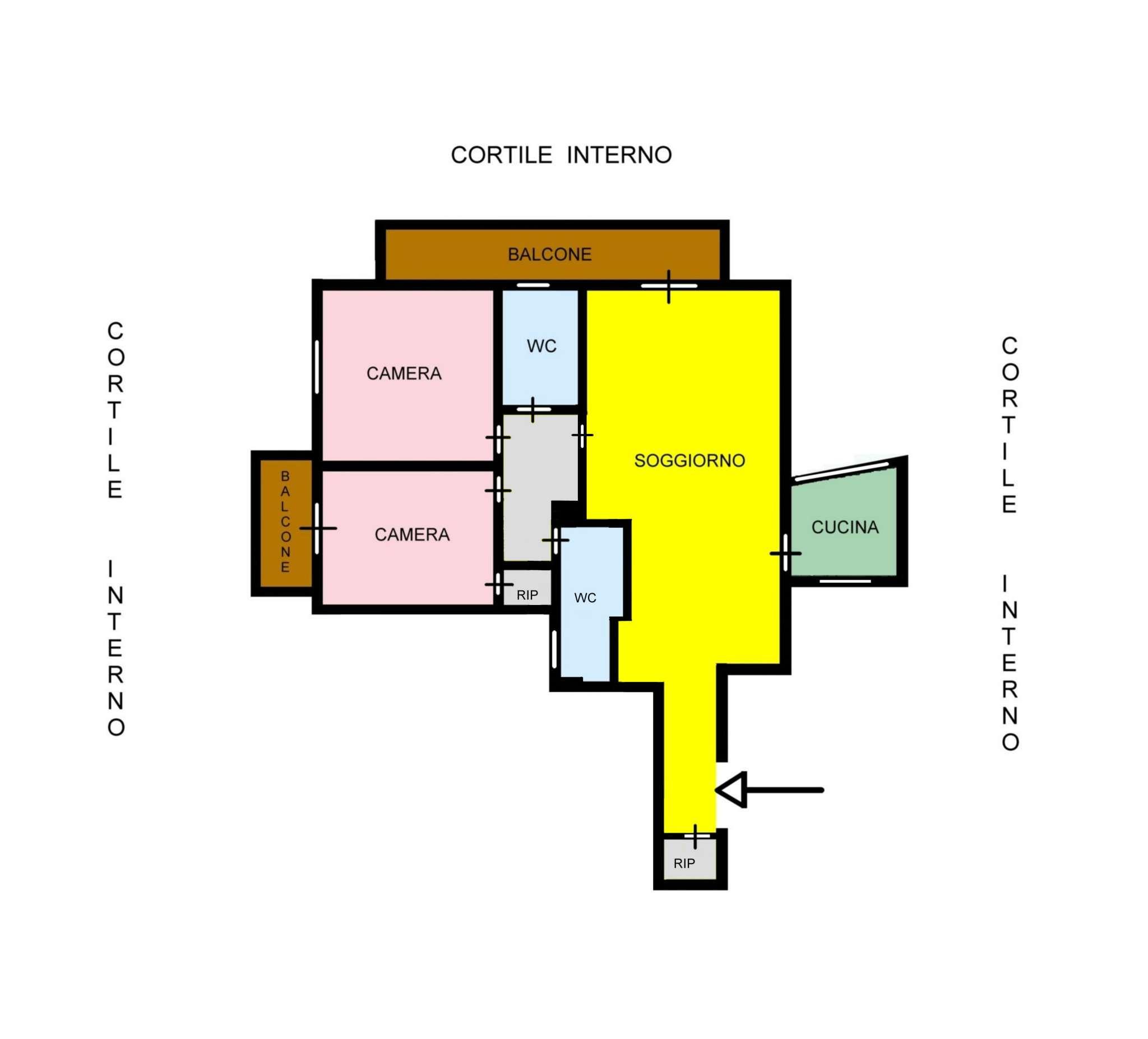 Appartamento in Vendita a Palermo: 4 locali, 105 mq