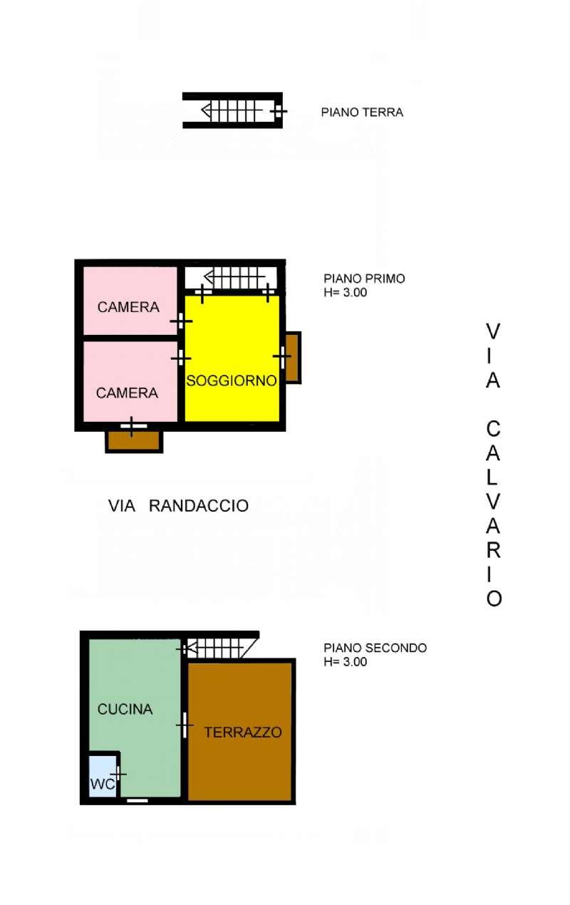 Casa indipendente in Vendita a Ustica:  3 locali, 95 mq  - Foto 1