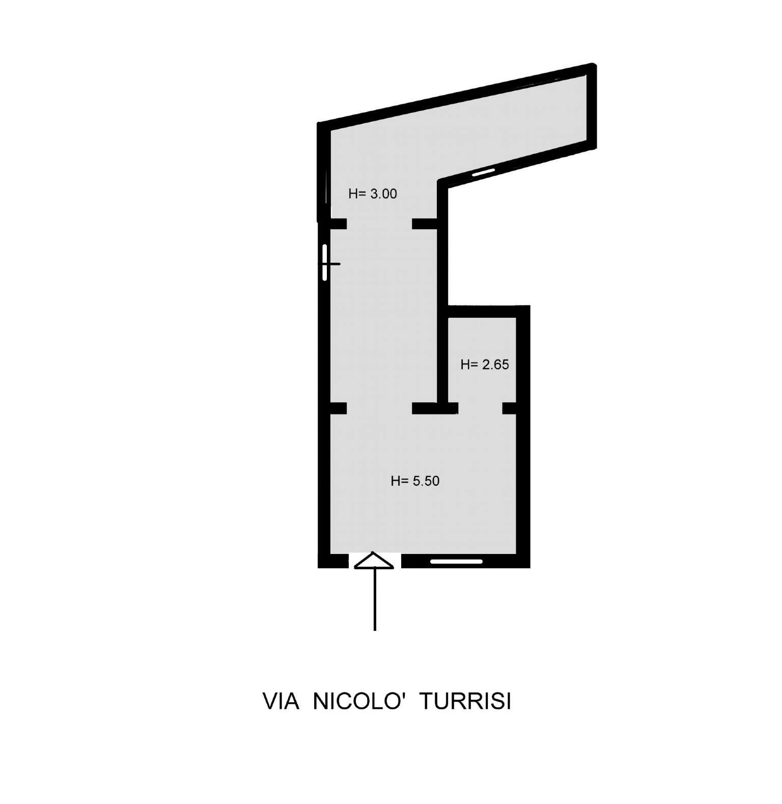 Magazzino in Vendita a Palermo: 3 locali, 120 mq