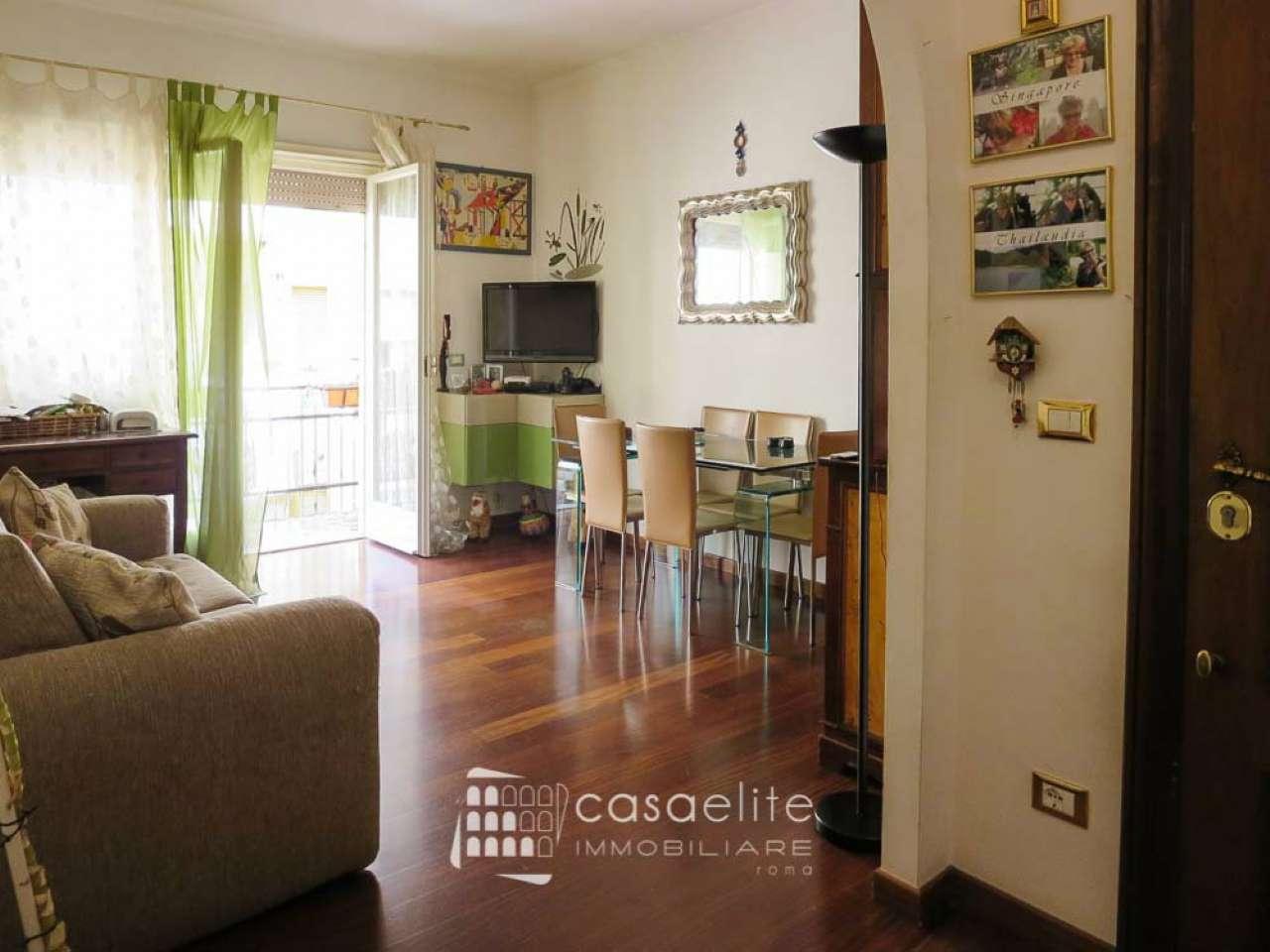 Appartamento in vendita 3 vani 100 mq.  via Andreotto Saracini Roma