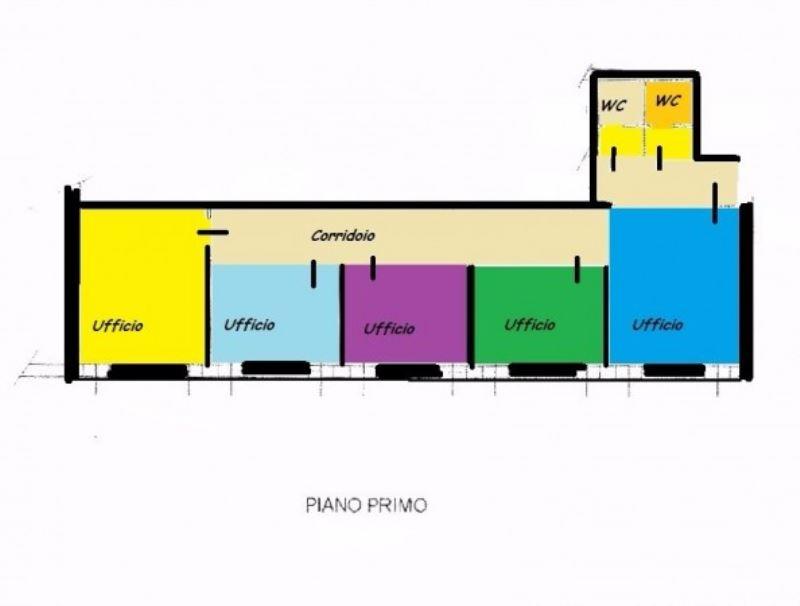 Ufficio / Studio in affitto a Ospitaletto, 4 locali, prezzo € 600 | Cambio Casa.it