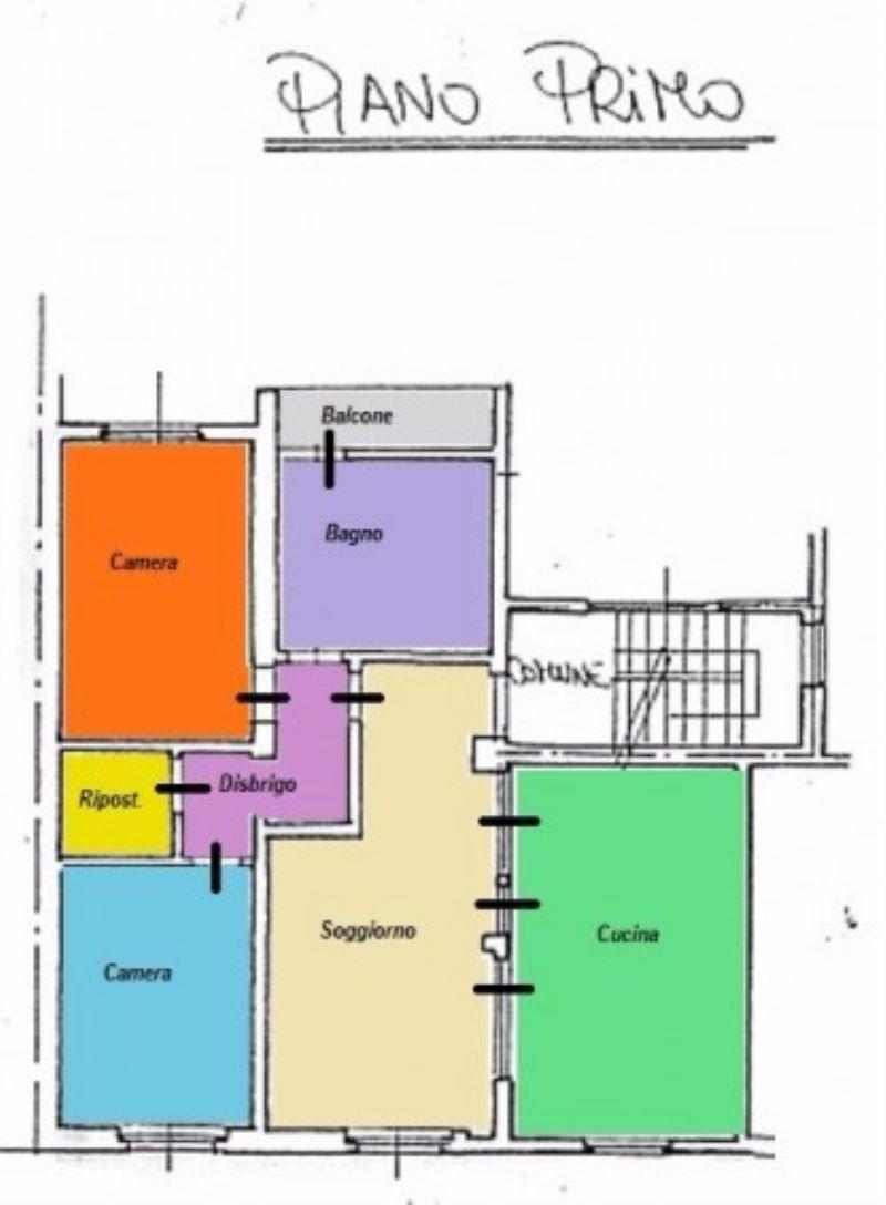 Appartamento in affitto a Castegnato, 3 locali, prezzo € 500 | Cambio Casa.it