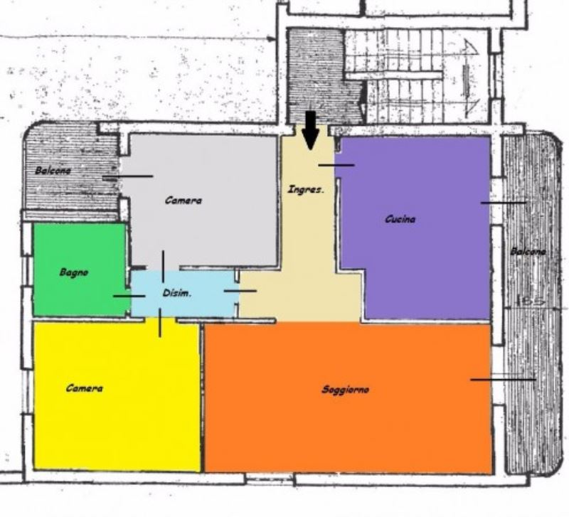 Appartamento in vendita a Castegnato, 3 locali, prezzo € 198.000 | Cambio Casa.it