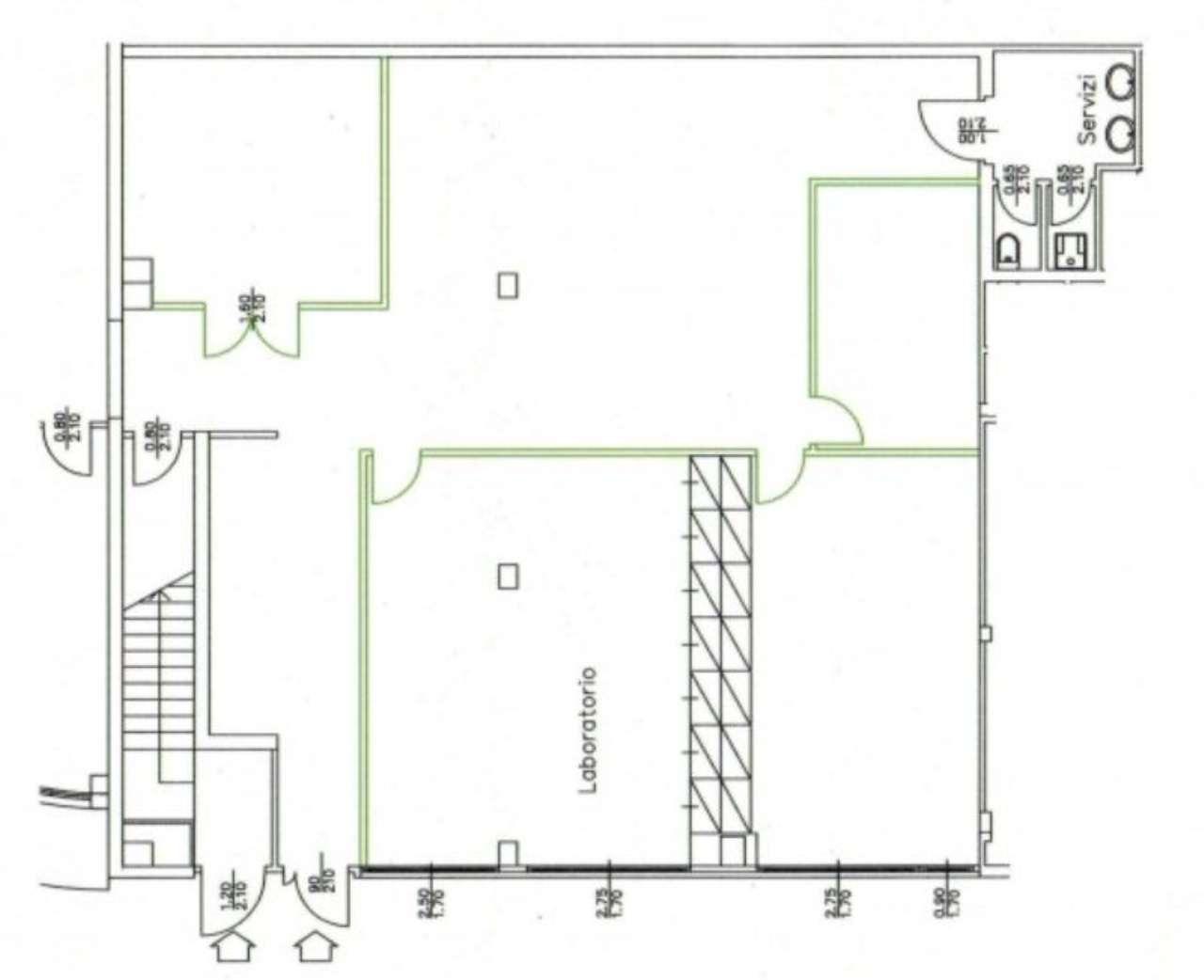 Ufficio / Studio in affitto a Segrate, 5 locali, prezzo € 1.250 | Cambio Casa.it
