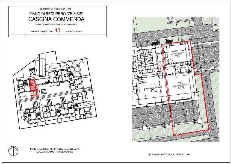 Appartamento in vendita a Segrate, 2 locali, prezzo € 200.000 | Cambio Casa.it