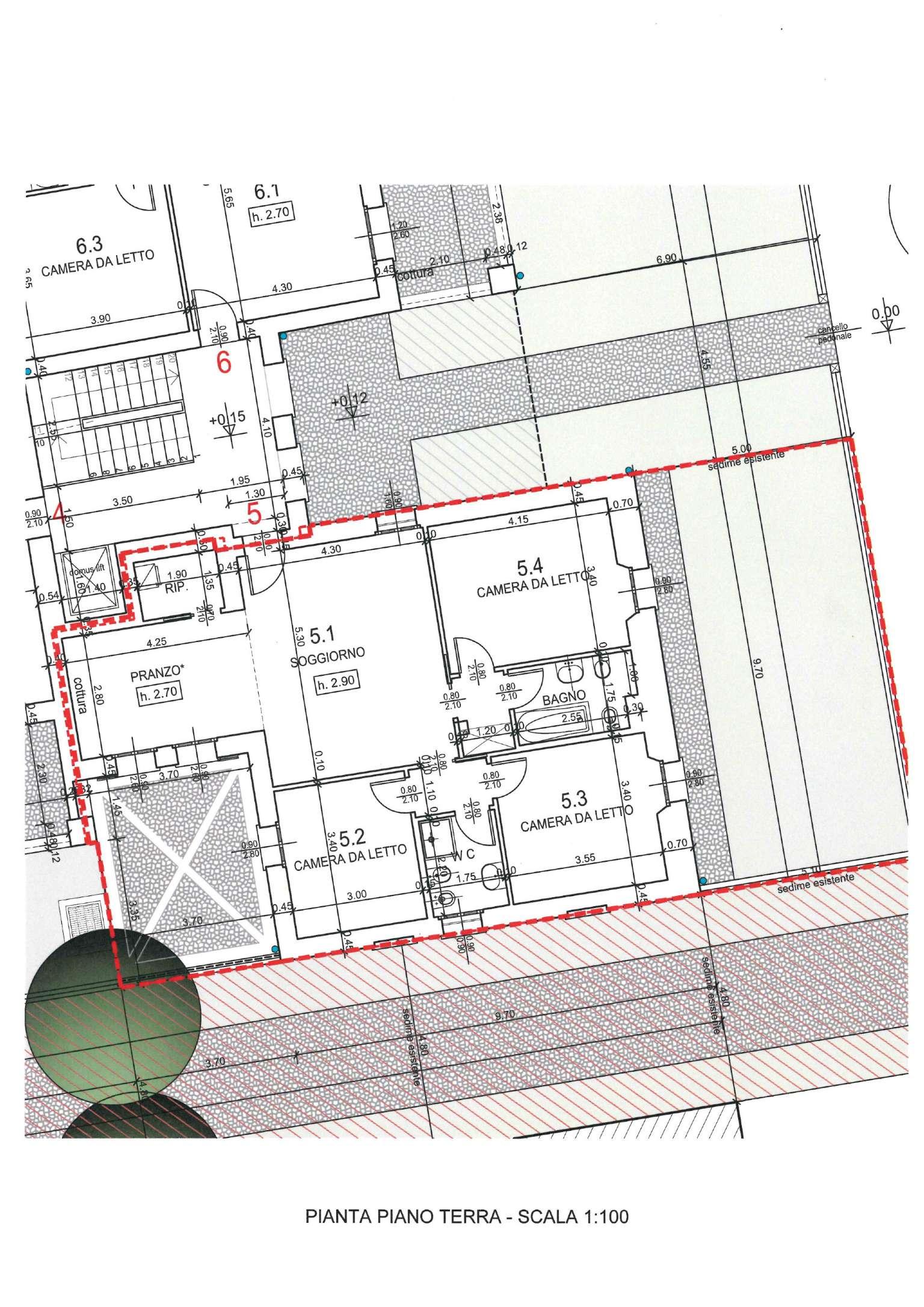 Appartamento in vendita a Segrate, 4 locali, prezzo € 360.000   Cambio Casa.it