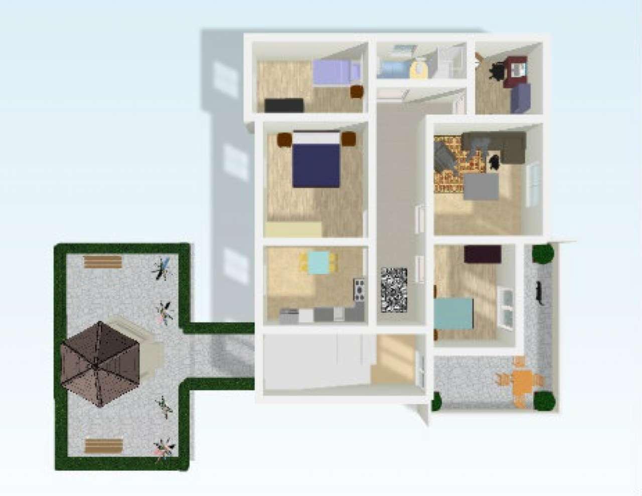 Soluzione Semindipendente in vendita a Cesena, 5 locali, prezzo € 230.000 | Cambio Casa.it