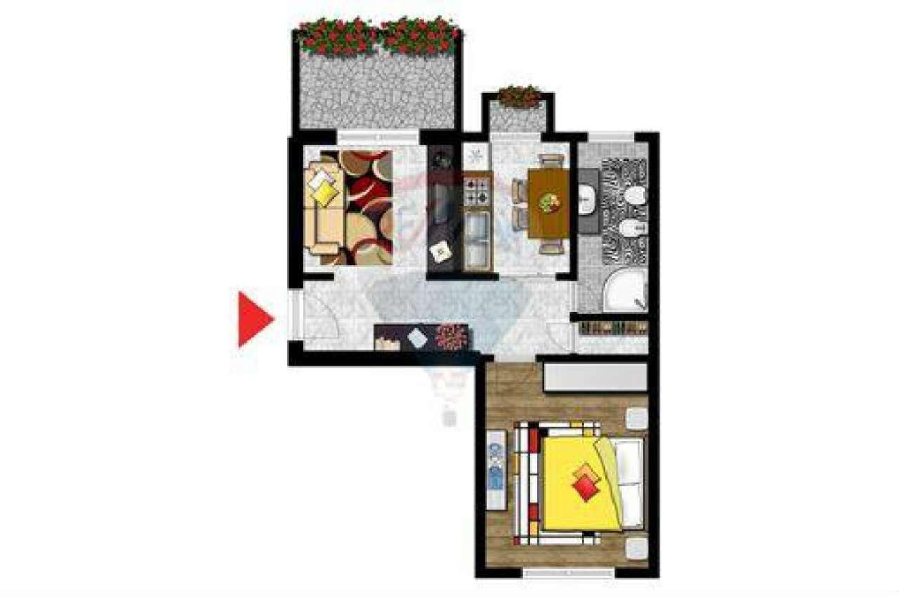 Appartamento in affitto a Cesano Boscone, 2 locali, prezzo € 420 | CambioCasa.it
