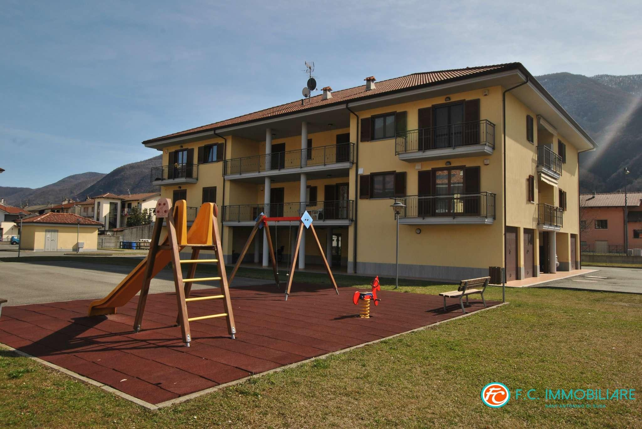Foto 1 di Trilocale via Torino 19/A, Sant'antonino Di Susa