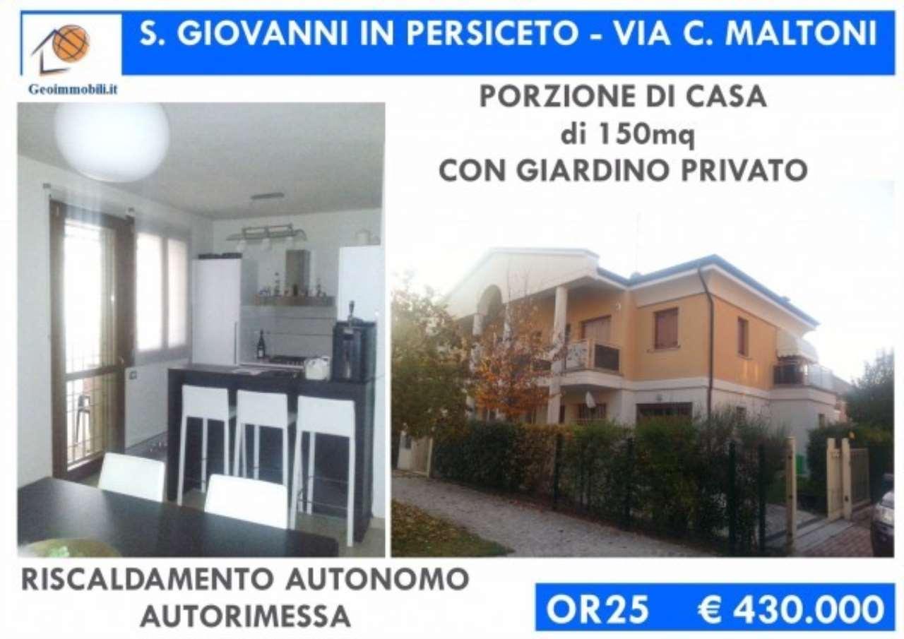 Villa in vendita a San Giovanni in Persiceto, 3 locali, prezzo € 430.000 | Cambio Casa.it