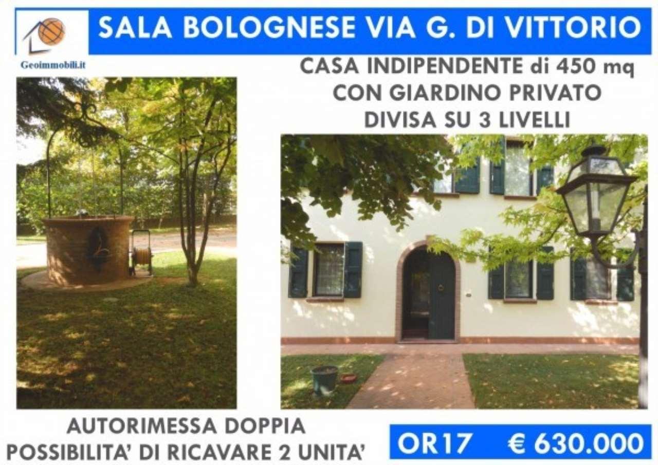 Villa in vendita a Sala Bolognese, 6 locali, prezzo € 599.000   CambioCasa.it