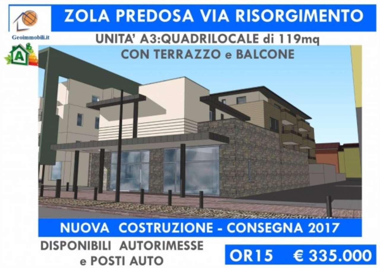 Appartamento in vendita a Zola Predosa, 4 locali, prezzo € 335.000 | Cambio Casa.it
