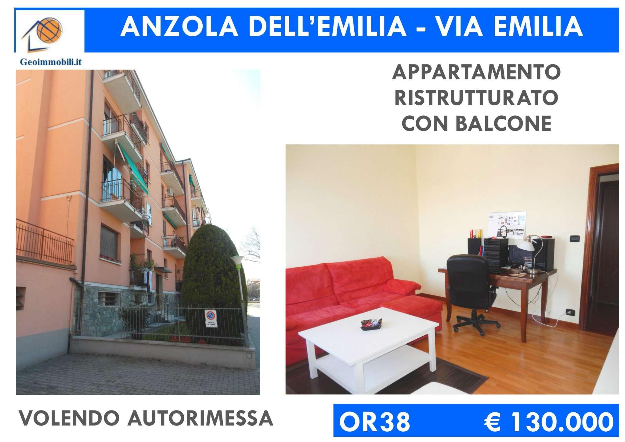 Appartamento in vendita a Anzola dell'Emilia, 3 locali, prezzo € 130.000 | CambioCasa.it