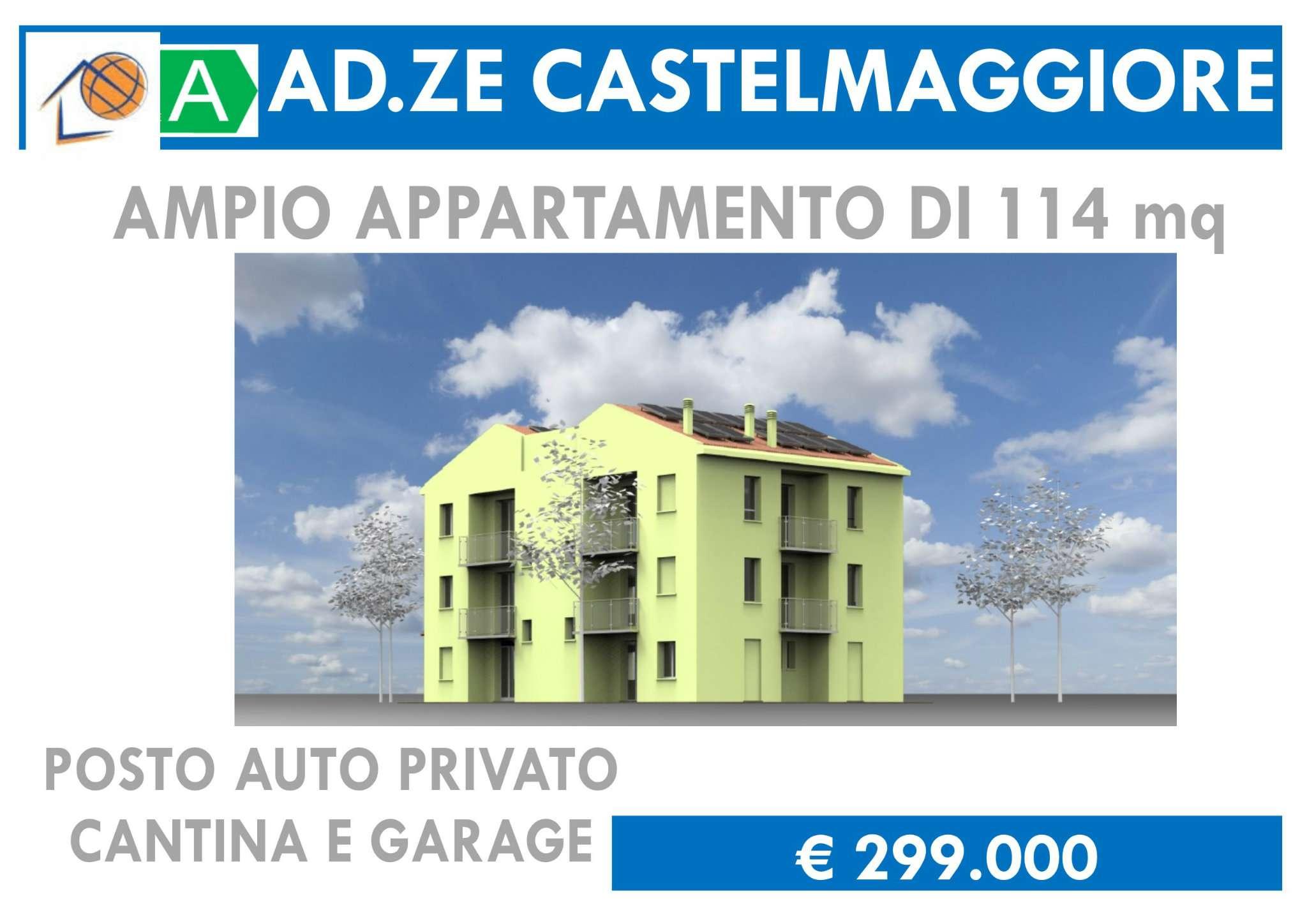Attico / Mansarda in vendita a Castel Maggiore, 4 locali, prezzo € 299.000 | CambioCasa.it