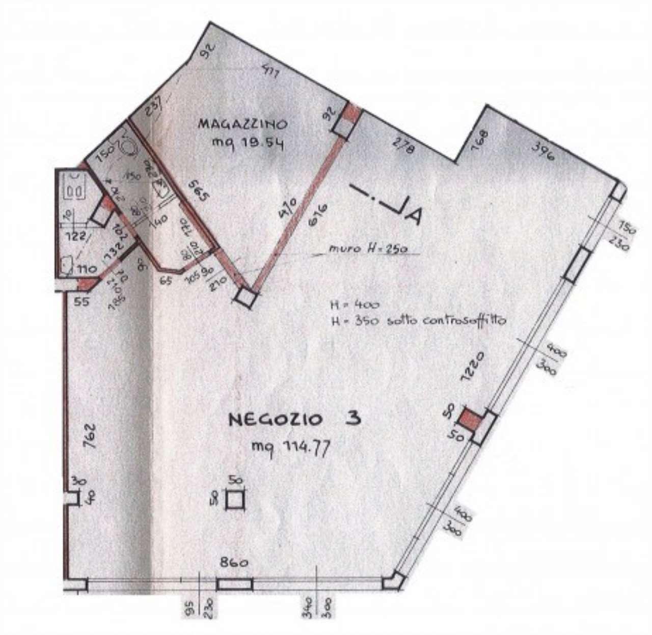 Negozio / Locale in vendita a Brescia, 4 locali, prezzo € 218.000 | Cambio Casa.it