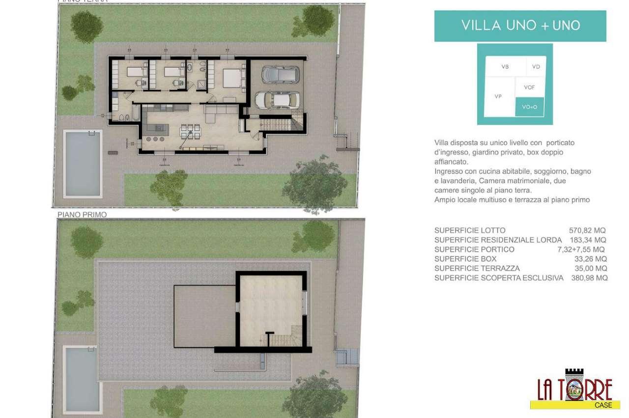 Villa in vendita a Castrezzato, 5 locali, prezzo € 370.000 | CambioCasa.it