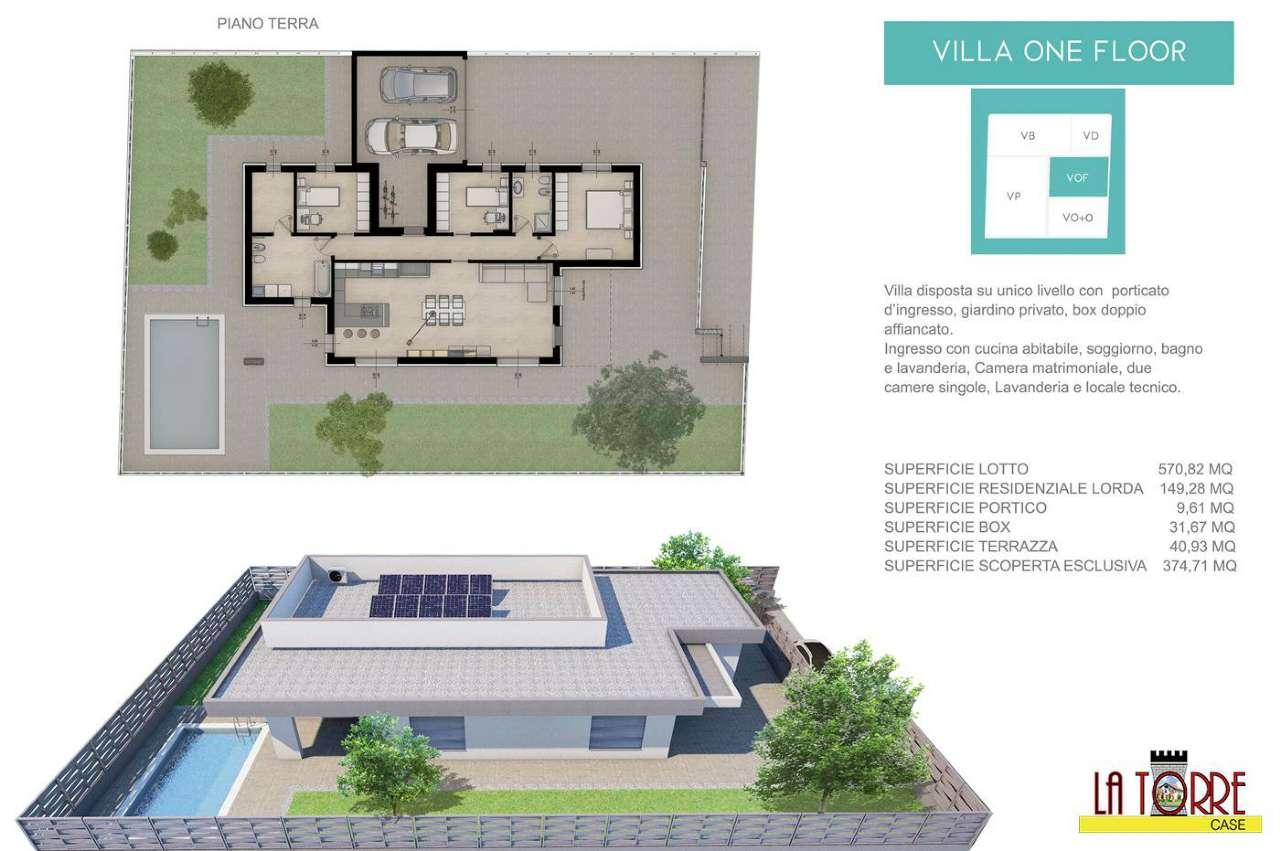 Villa in vendita a Castrezzato, 5 locali, prezzo € 340.000 | CambioCasa.it
