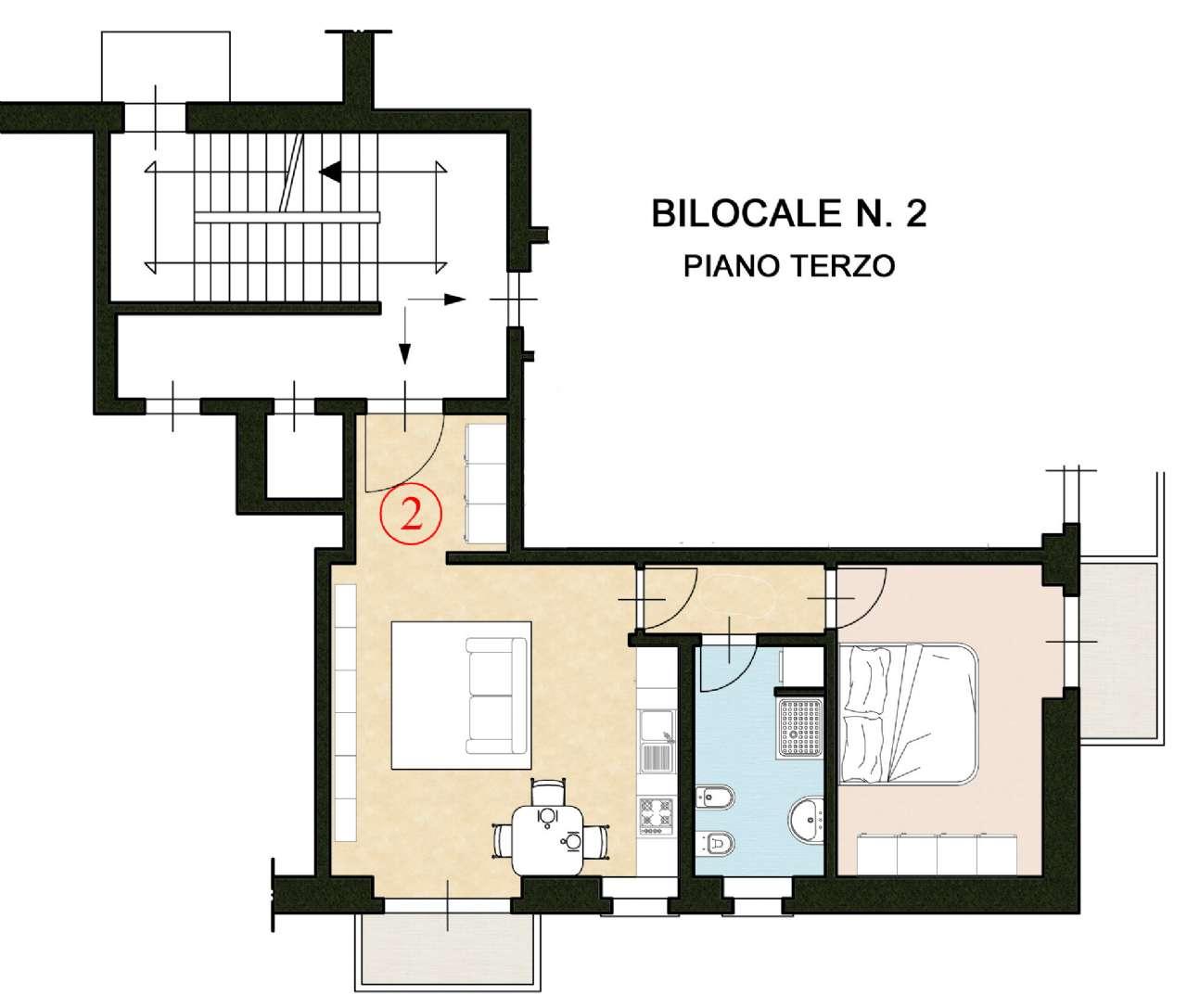 Appartamento in affitto a Pinerolo, 2 locali, Trattative riservate | CambioCasa.it