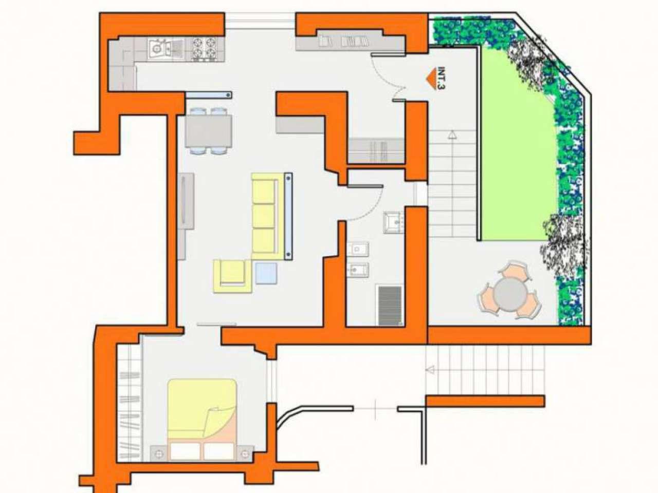 Appartamento in affitto a Guidonia Montecelio, 2 locali, prezzo € 350 | Cambio Casa.it