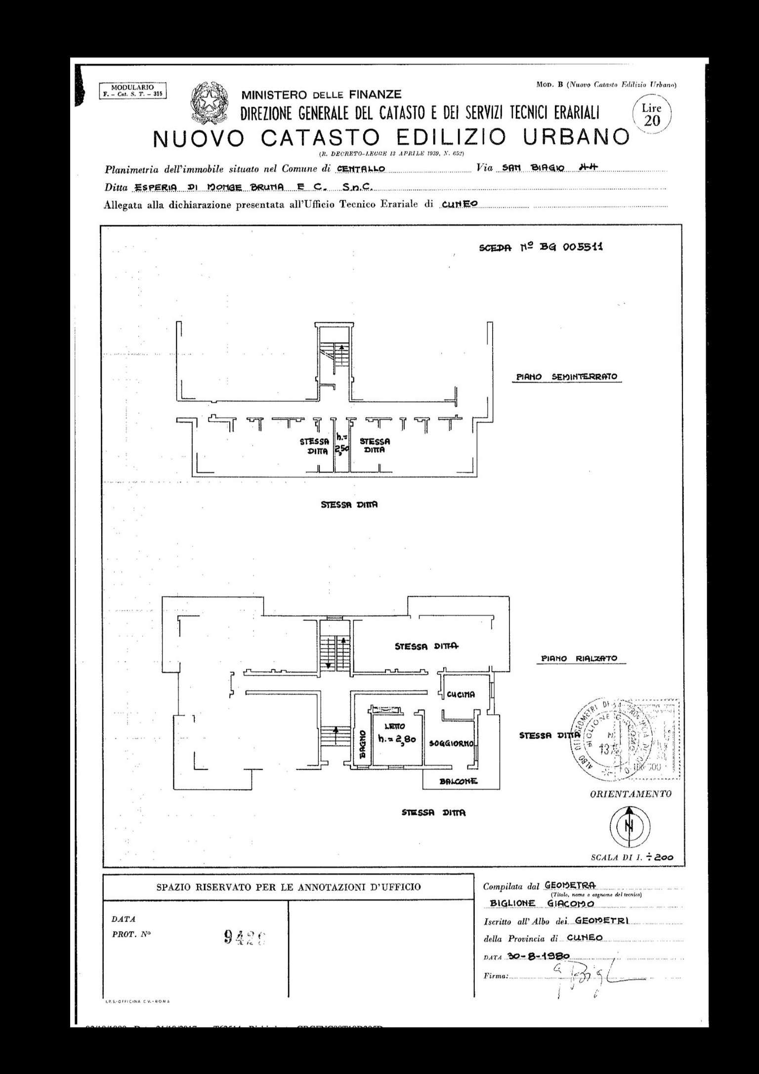 Appartamento in vendita a Centallo, 3 locali, prezzo € 75.000 | CambioCasa.it