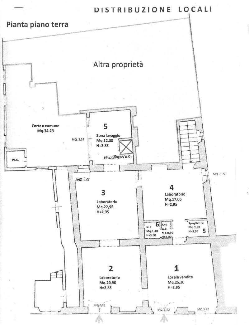 Laboratorio in vendita a Firenze, 5 locali, zona Zona: 1 . Castello, Careggi, Le Panche, prezzo € 140.000   CambioCasa.it