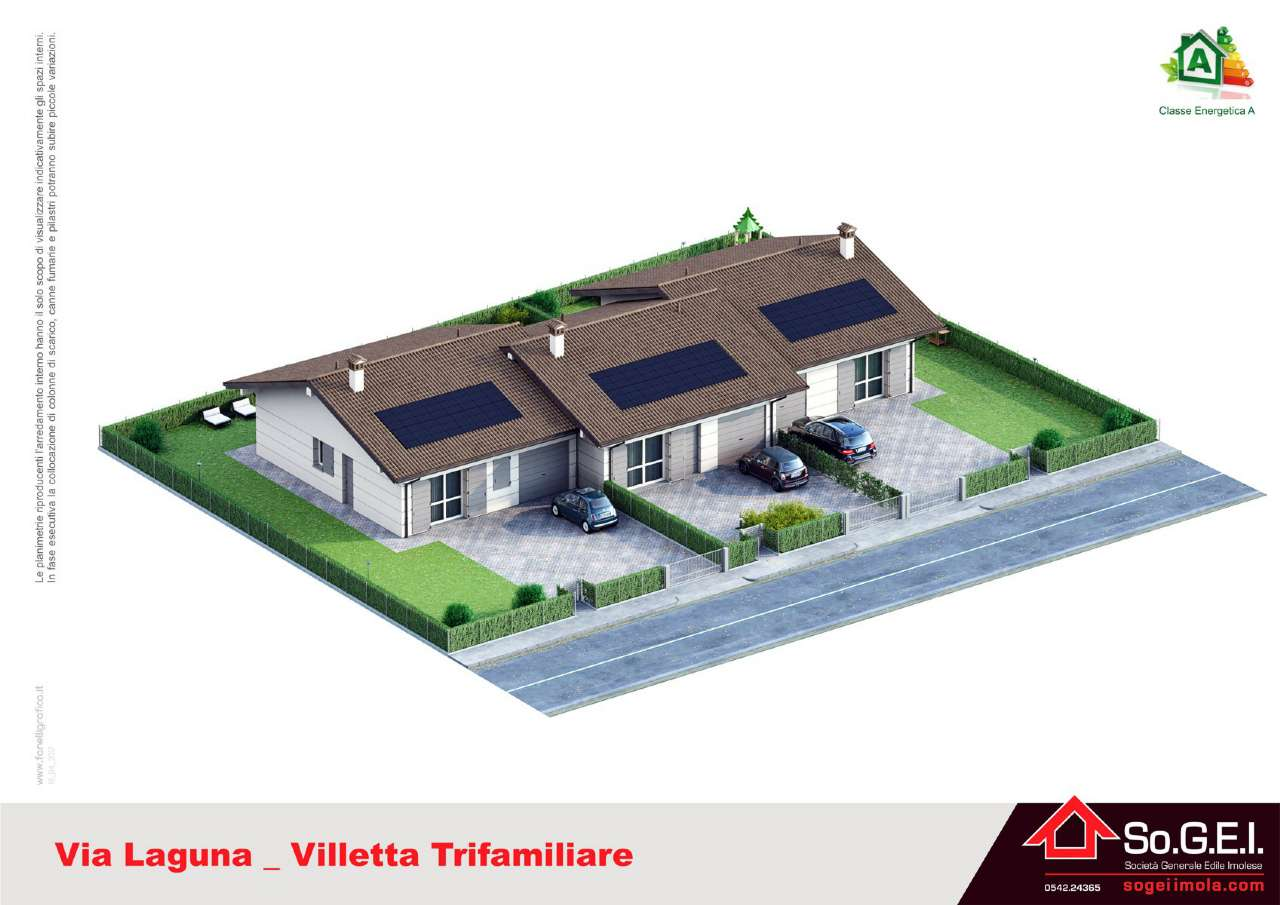Foto 1 di Casa indipendente via Laguna, frazione Chiusura, Imola