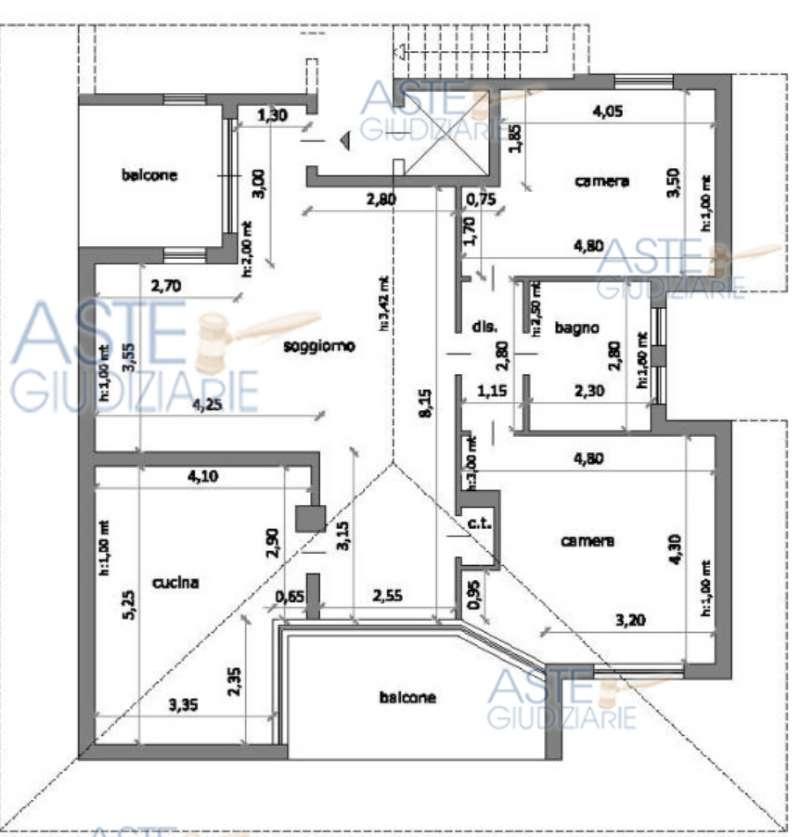 Appartamento in vendita a Savigliano, 4 locali, prezzo € 62.250 | CambioCasa.it