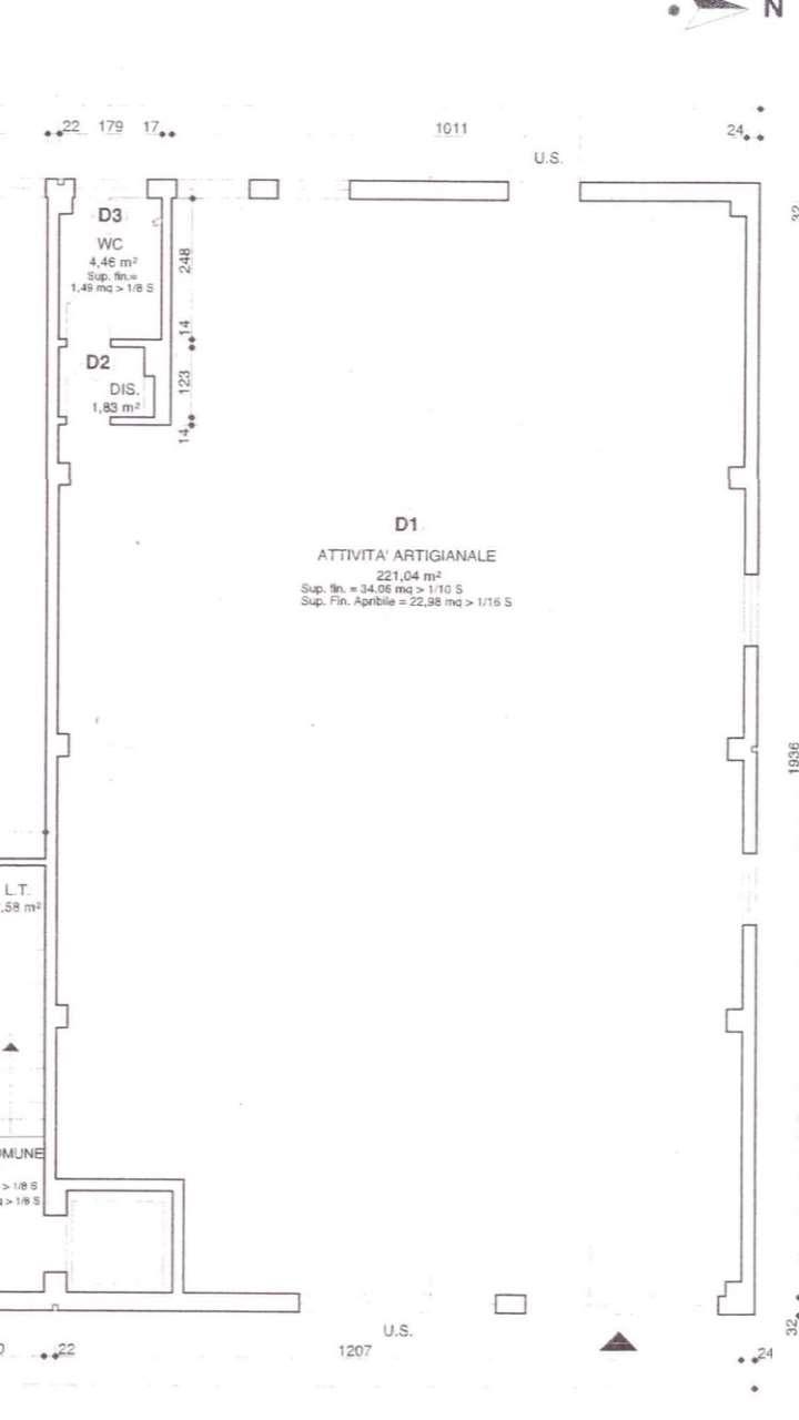 Magazzino in affitto a Lucca, 1 locali, prezzo € 1.400 | CambioCasa.it