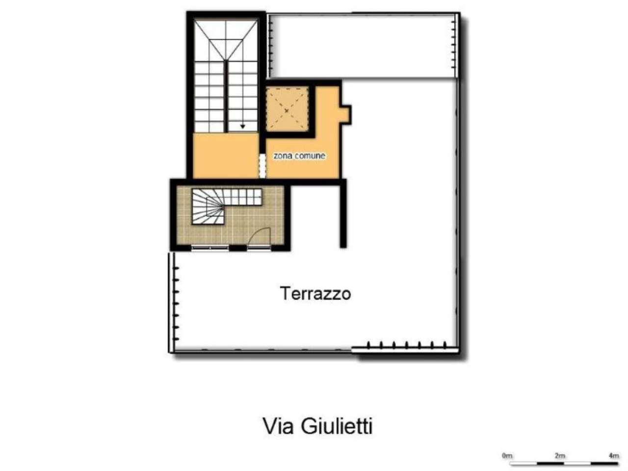 Vendita  bilocale Milano Via Giulietti 1 627909