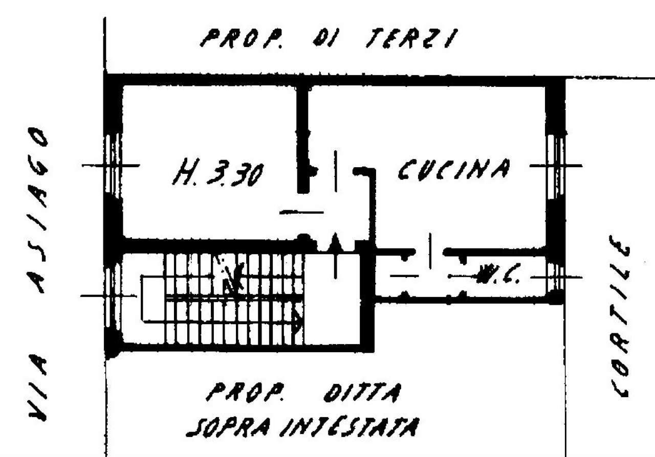 Vendita  bilocale Milano Via Asiago 1 453610