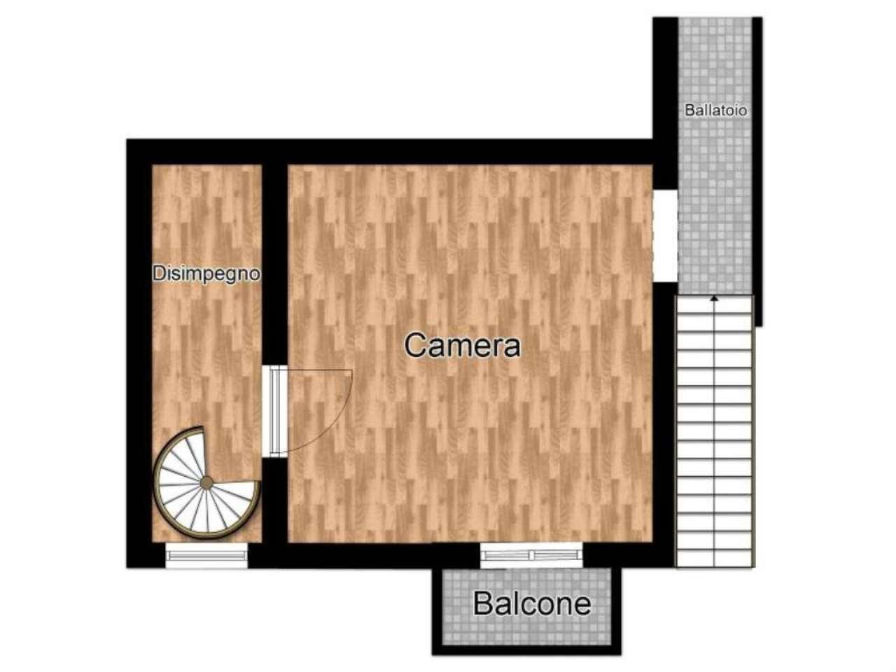 Vendita  bilocale Vimercate Via Castello 1 871699