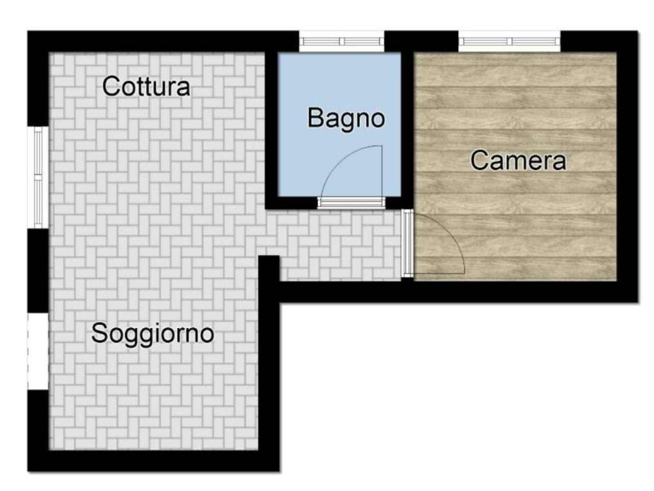 Vendita  bilocale Arcore Via Monte Grappa 1 1040937