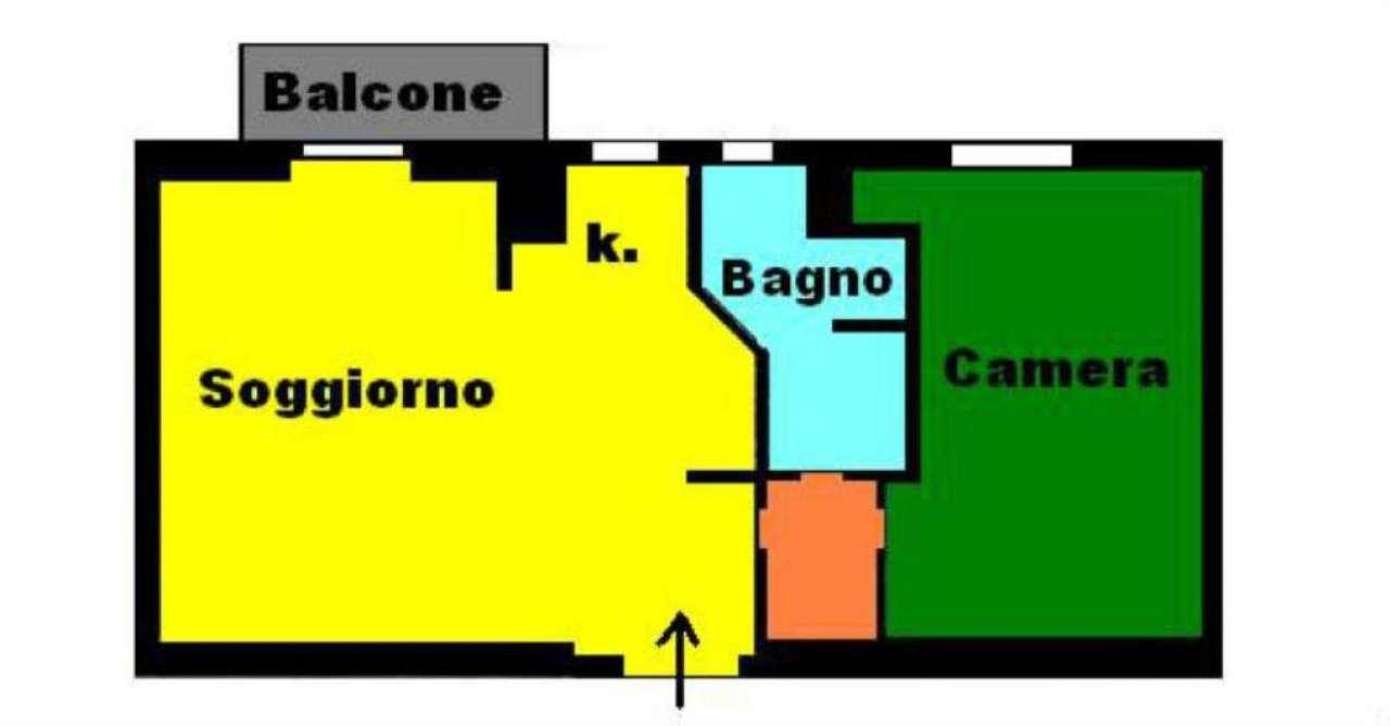 Vendita  bilocale Concorezzo Via De Amicis 1 928336