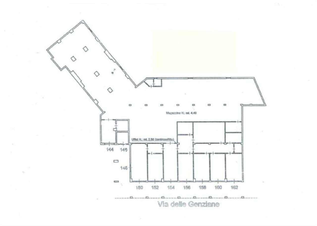 Ufficio / Studio in affitto a Genova, 14 locali, zona Zona: 19 . Quarto, prezzo € 2.900 | Cambio Casa.it