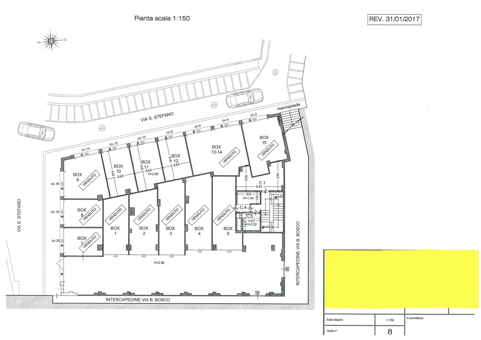 Box / Garage in vendita a Genova, 9999 locali, zona Zona: 1 . Centro, Centro Storico, prezzo € 82.000 | CambioCasa.it