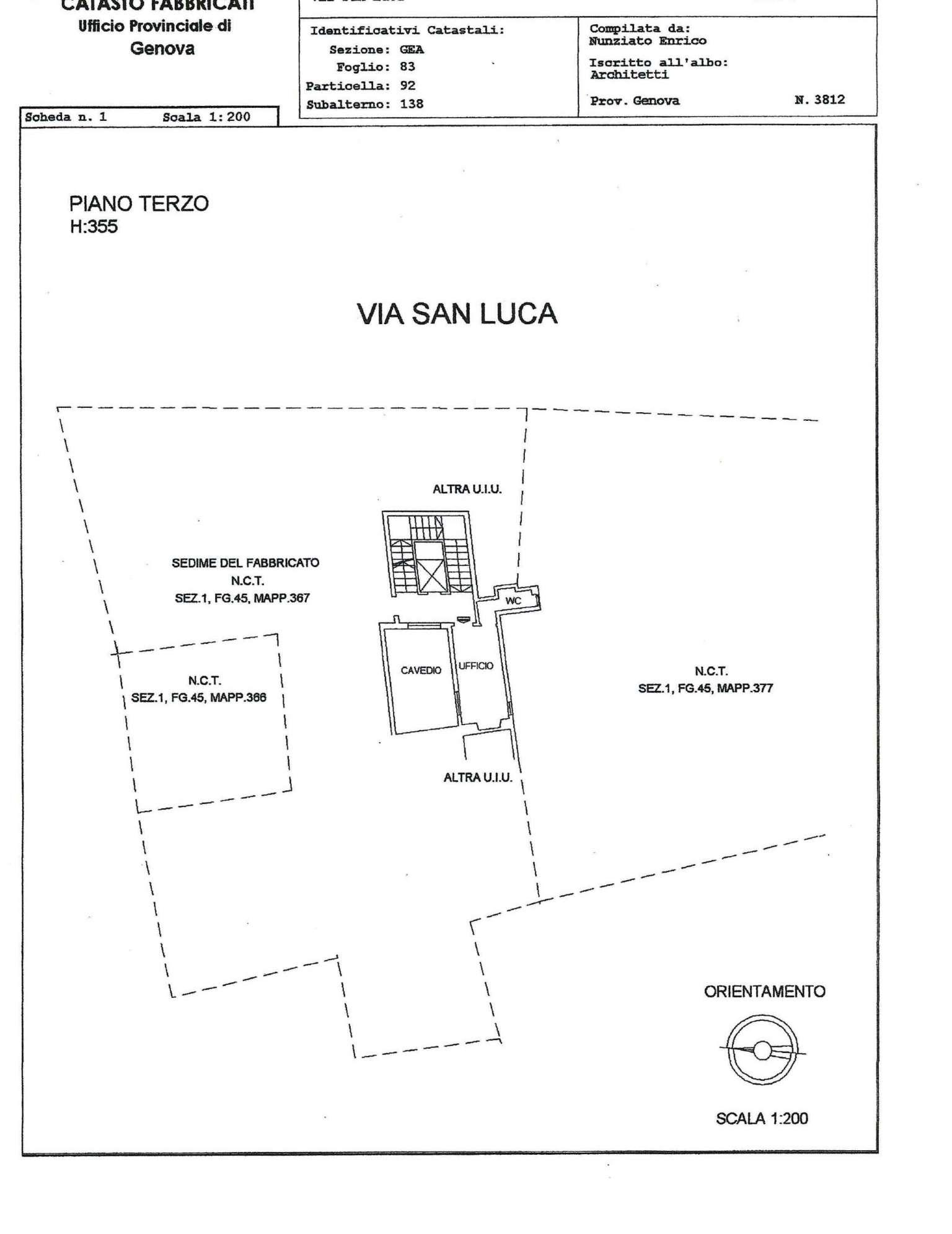 Appartamento in vendita a Genova, 2 locali, zona Zona: 1 . Centro, Centro Storico, prezzo € 26.000 | CambioCasa.it