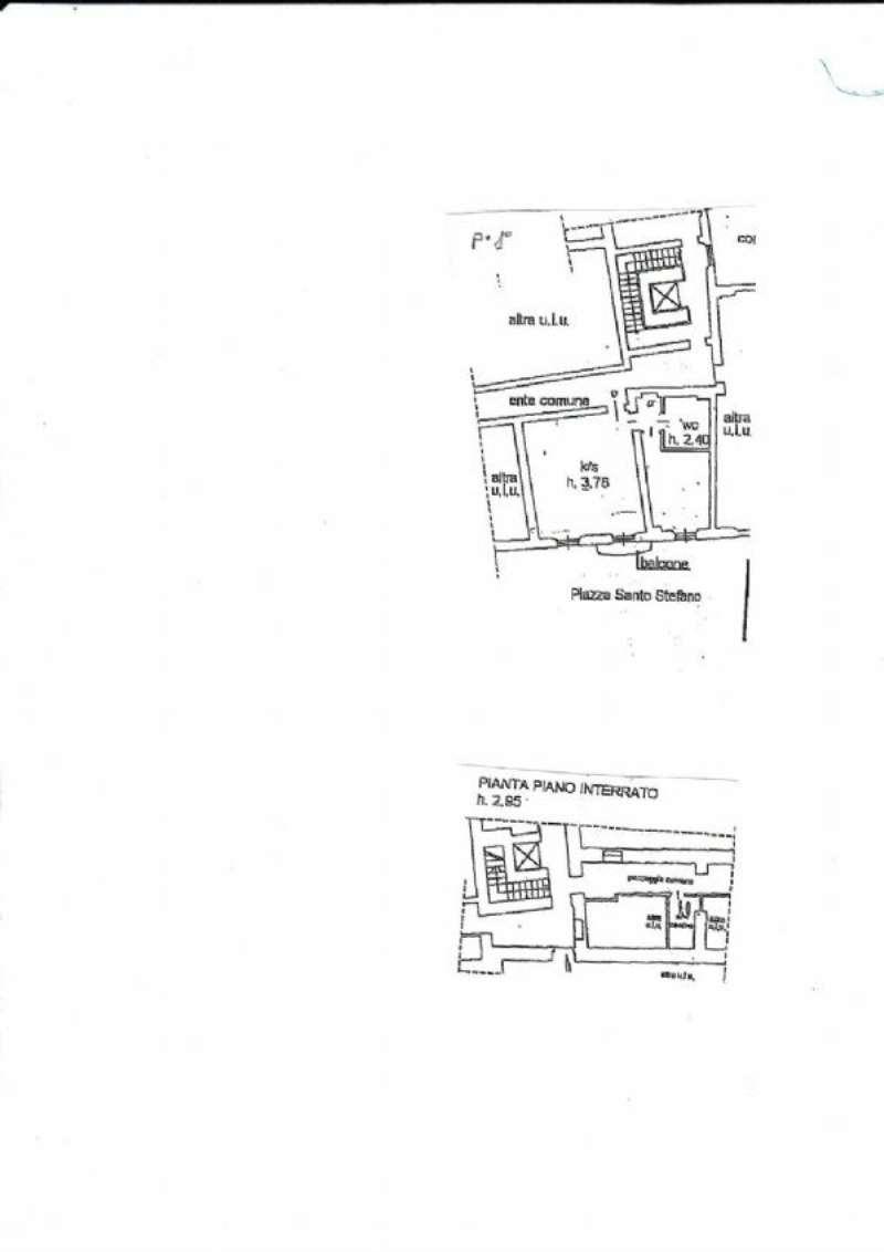 Affitto  bilocale Milano Piazza Santo Stefano 1 941411