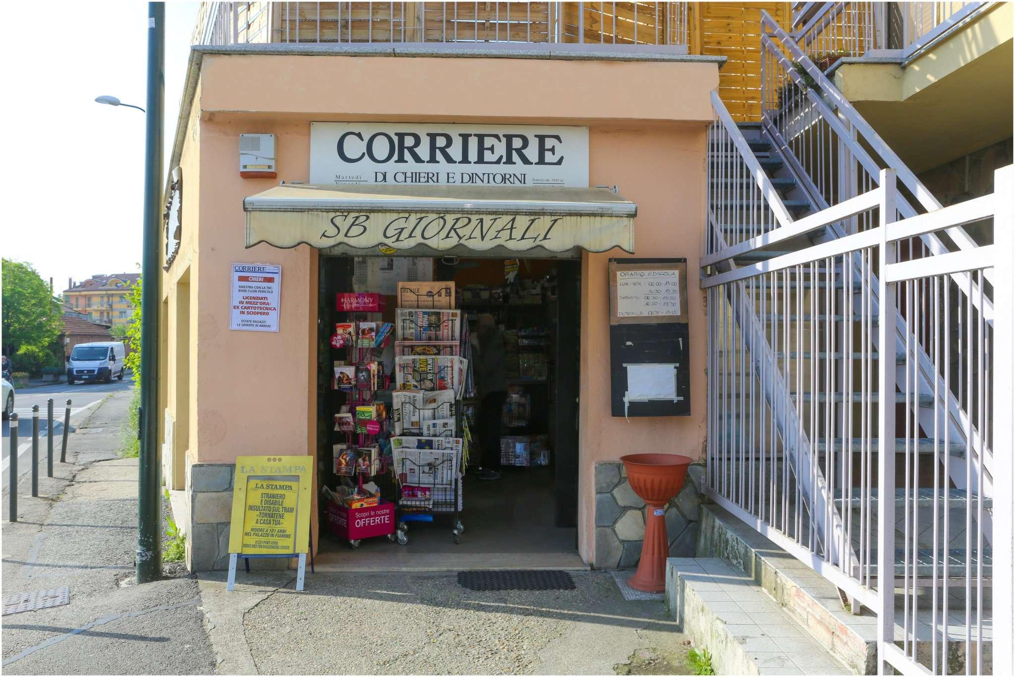 Cessione attività in vendita via Conte Rossi di Montelera  6 Chieri