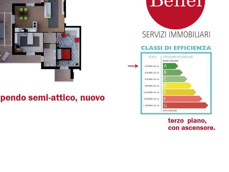 Semiattico bellissimo, nuovo, Sassuolo (Mo)