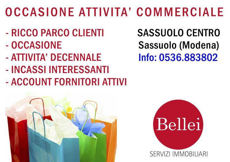 Cedesi attività in Centro a Sassuolo, occasione. Rif. 4881151
