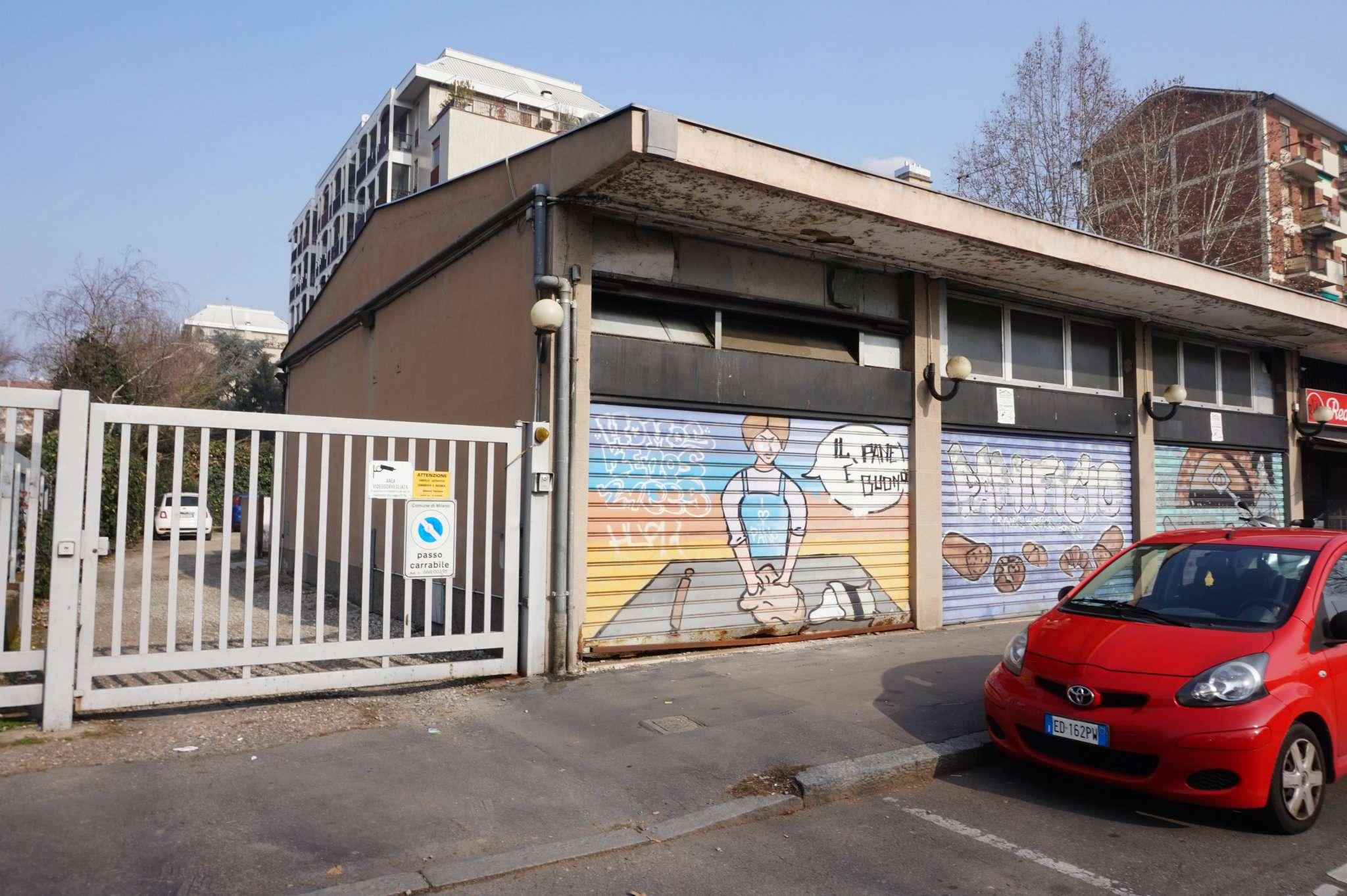 Agenzia Corso Immobiliare Bisceglie negozio / locale in affitto a milano - zona: 13 . baggio, forze armate,  quinto romano, bisceglie, valsesia