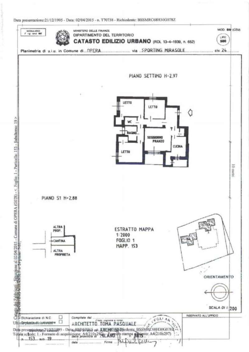 Appartamento in vendita a Opera, 4 locali, prezzo € 280.000 | PortaleAgenzieImmobiliari.it
