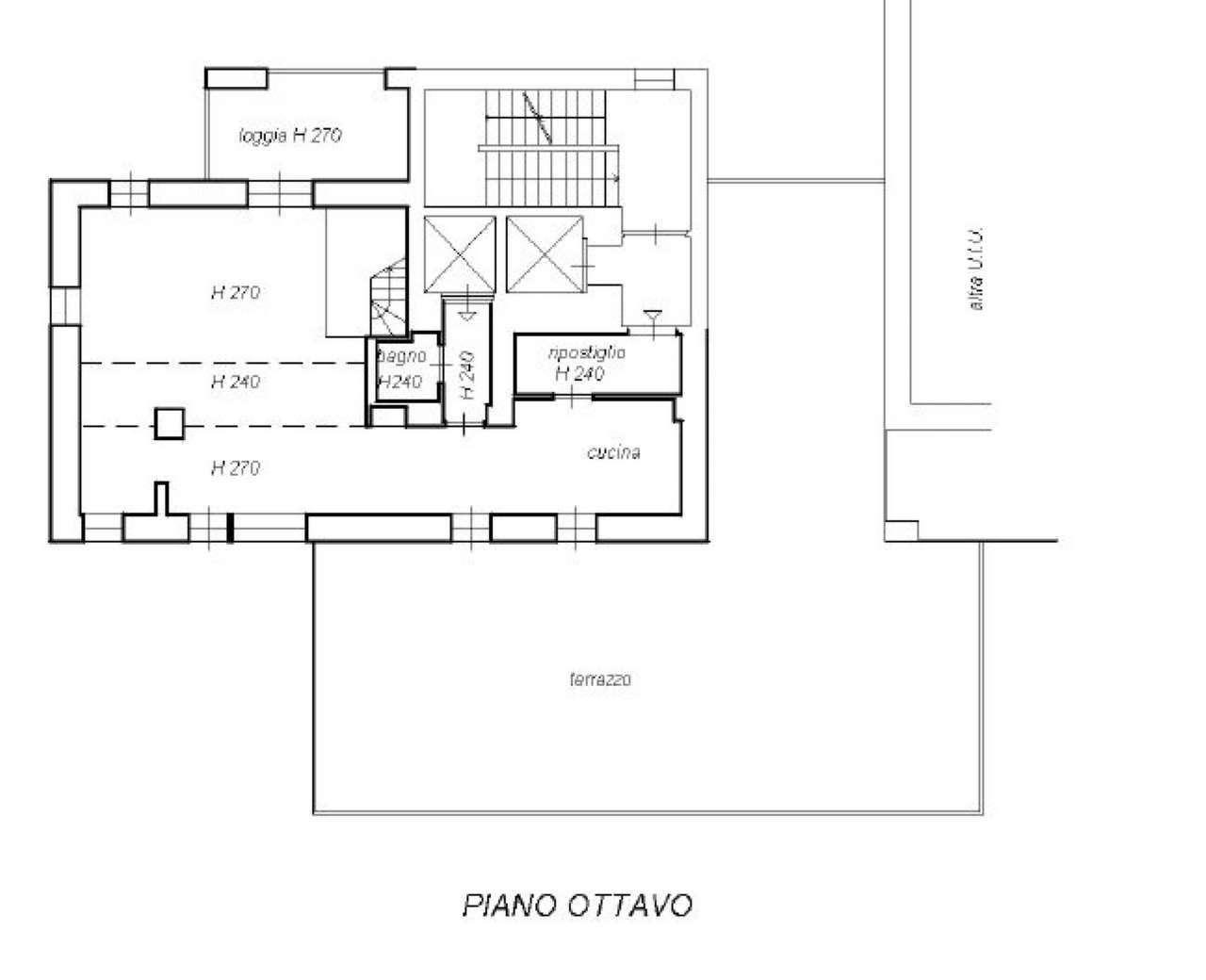 Attico / Mansarda a Milano in Vendita