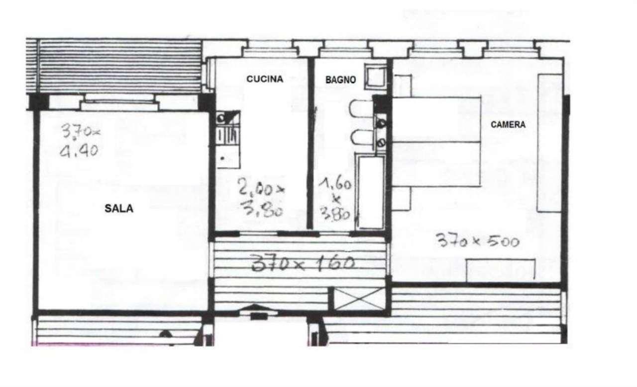 Appartamento ristrutturato in affitto Rif. 4499916