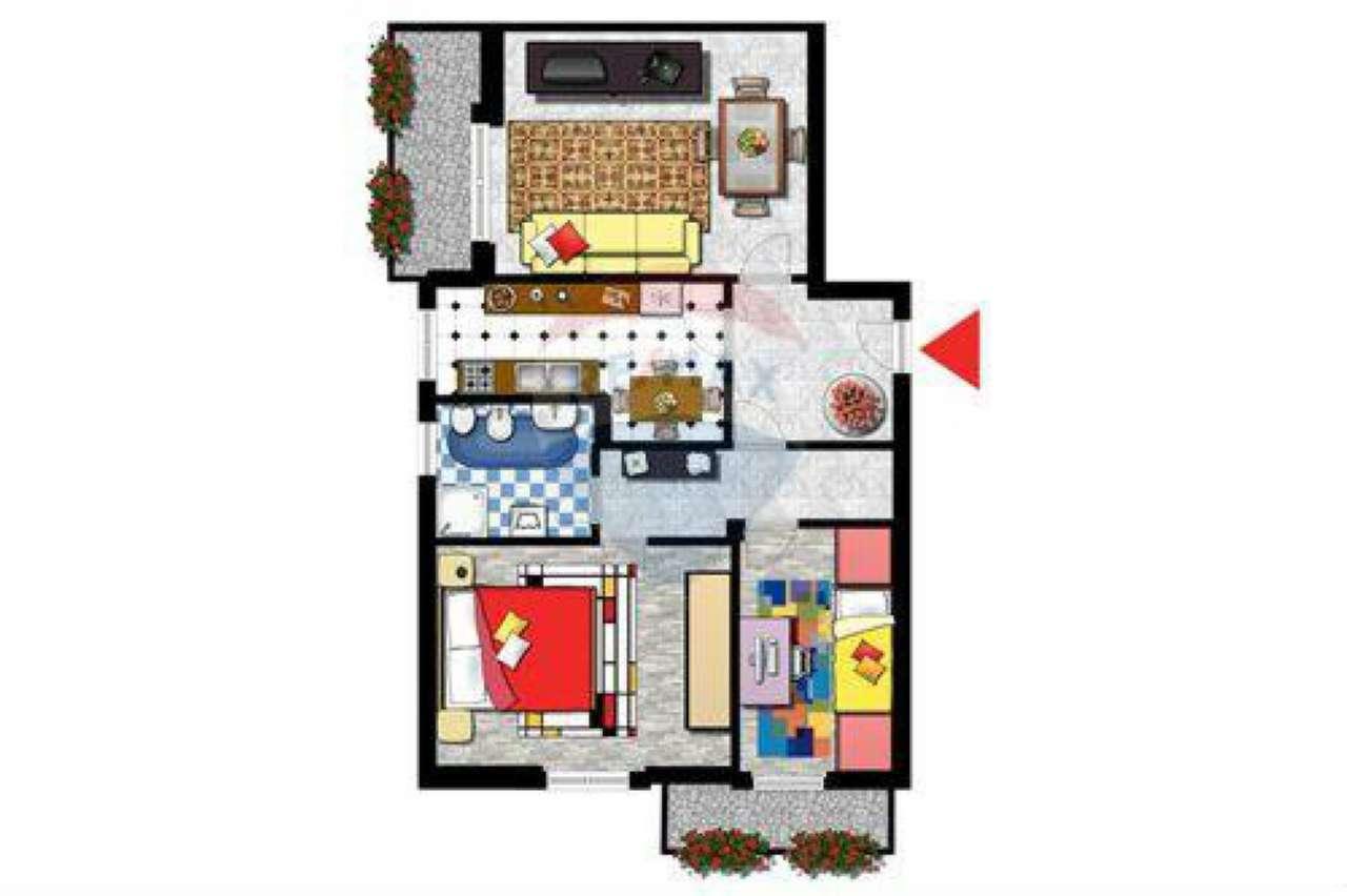 Appartamento in buone condizioni in vendita Rif. 6989014