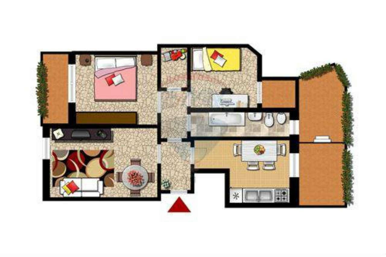 Appartamento in buone condizioni in vendita Rif. 7377515